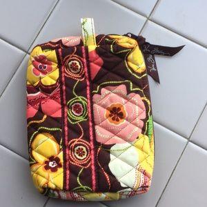 Vera Bradley buttercup small cosmetic bag EUC